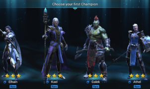 Choose your first champion
