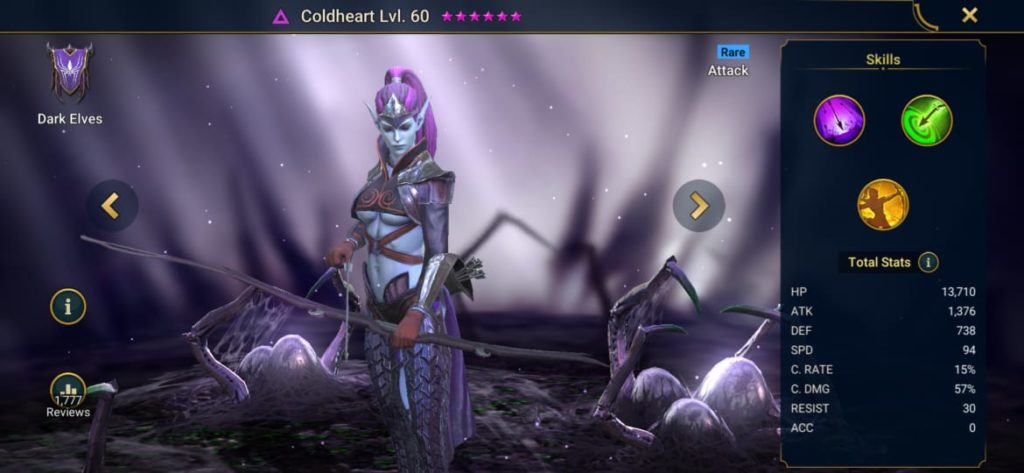 Coldheart Build
