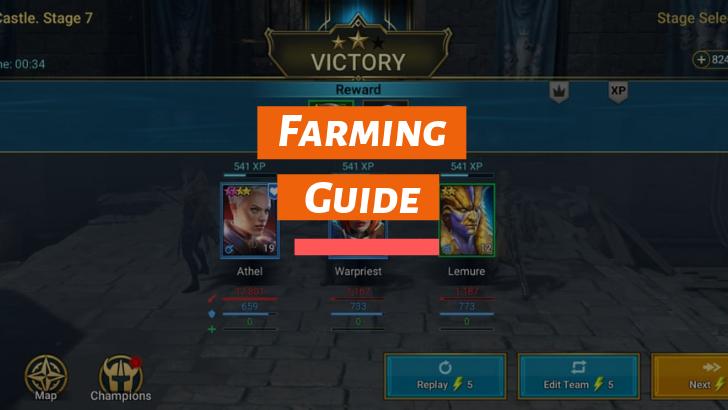 Raid Shadow Legends Farming Guide What Should I Be Farming