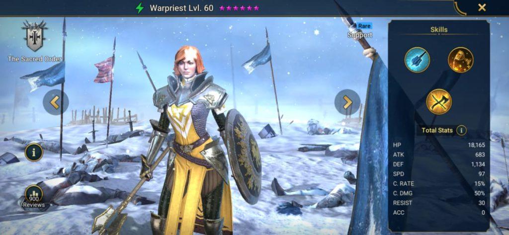WarPriest Build