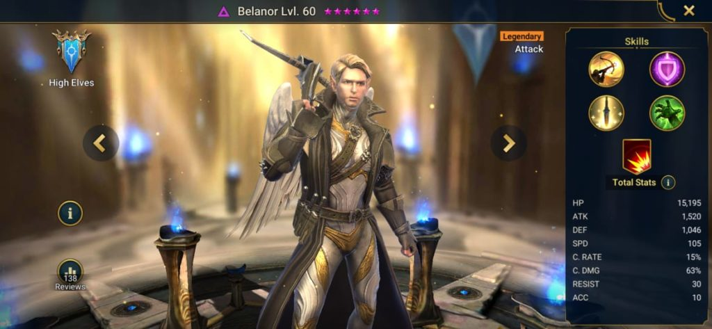 Belanor Build