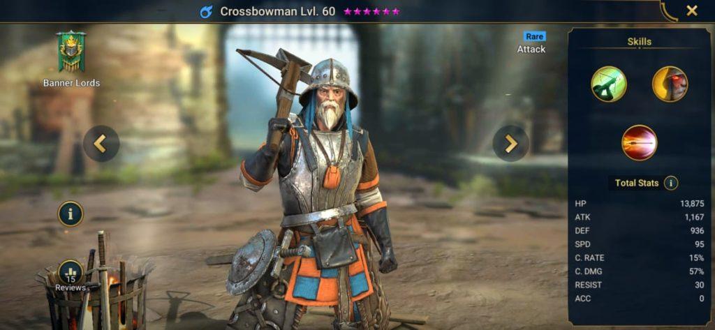 Crossbowman Build