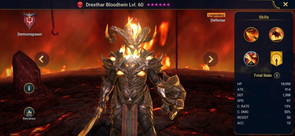 Drexthar Bloodtwin Build
