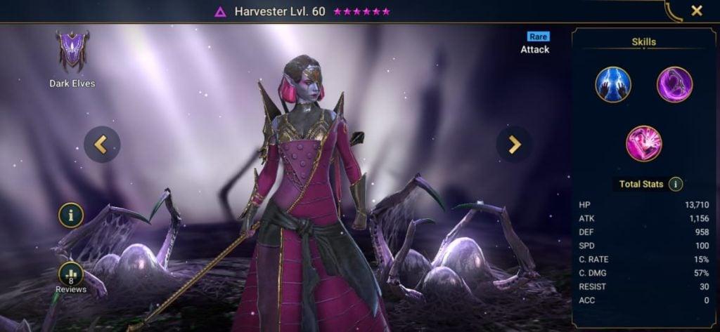 Harvester Build