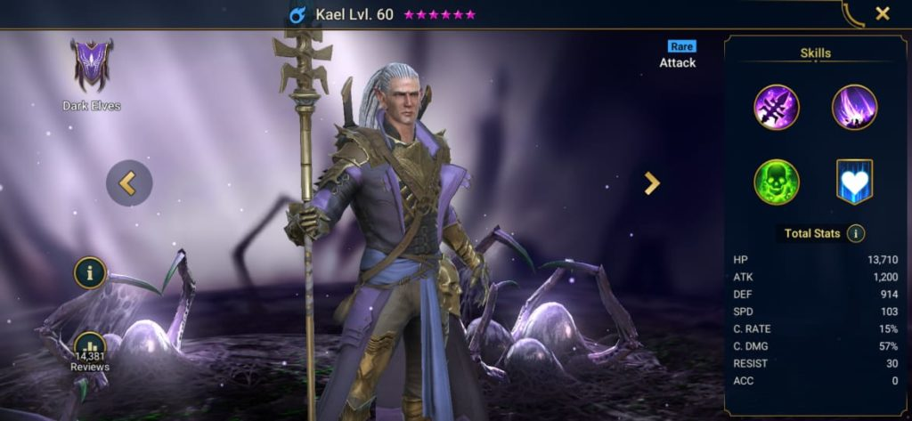 Raid Shadow Legends Kael Build – Artifacts & Masteries Guide