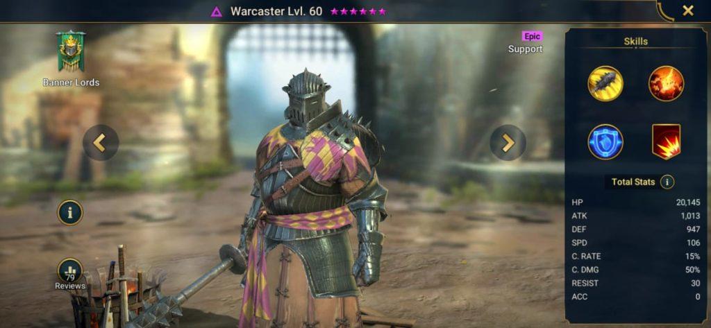 Warcaster Build